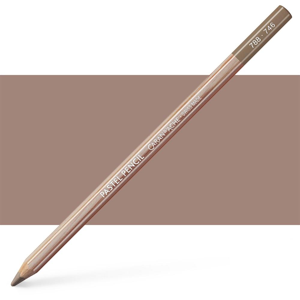 Caran d'Ache : Pastel Pencil : Dark Flesh 50 Percent
