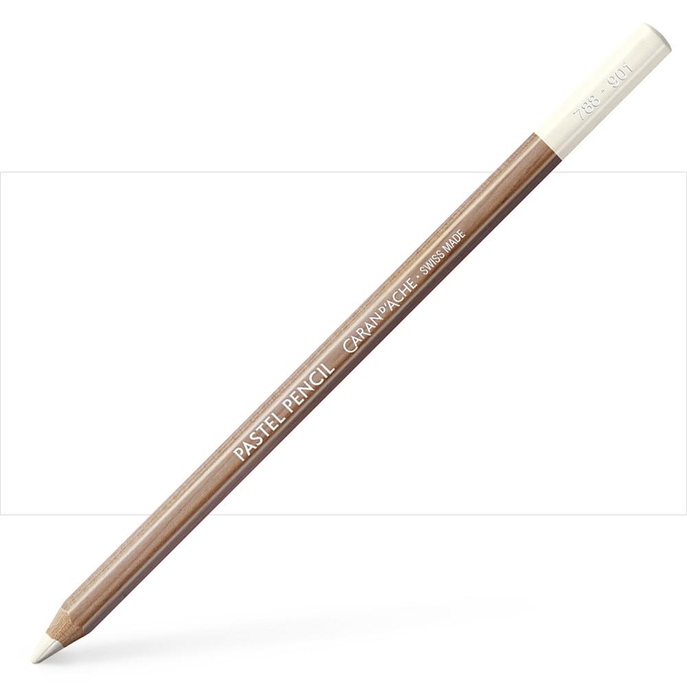 Caran d'Ache : Pastel Pencil : Chinese White