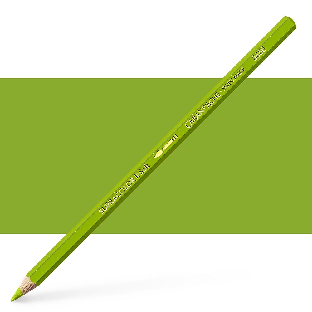 Caran d'Ache : Supracolor Soft : Watersoluble Pencil : Khaki green