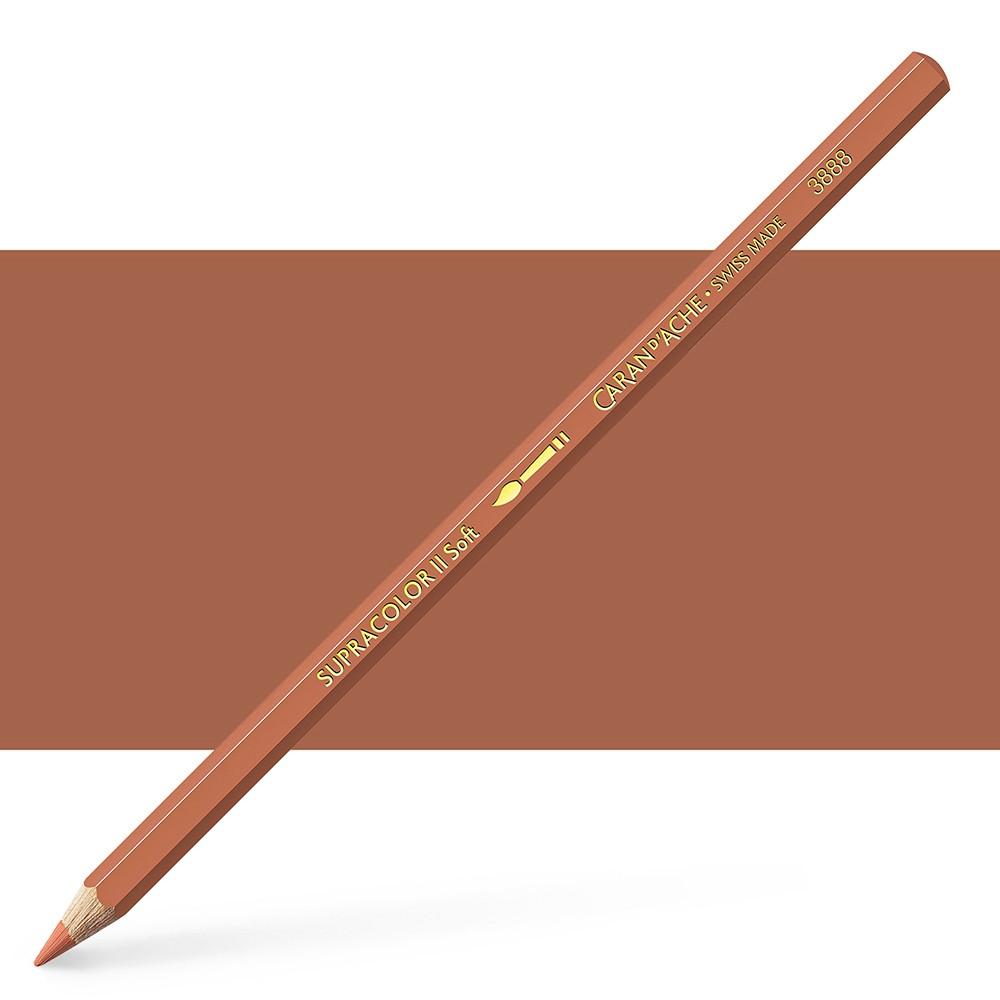 Caran d'Ache : Supracolor Soft : Watersoluble Pencil : Cinnamon