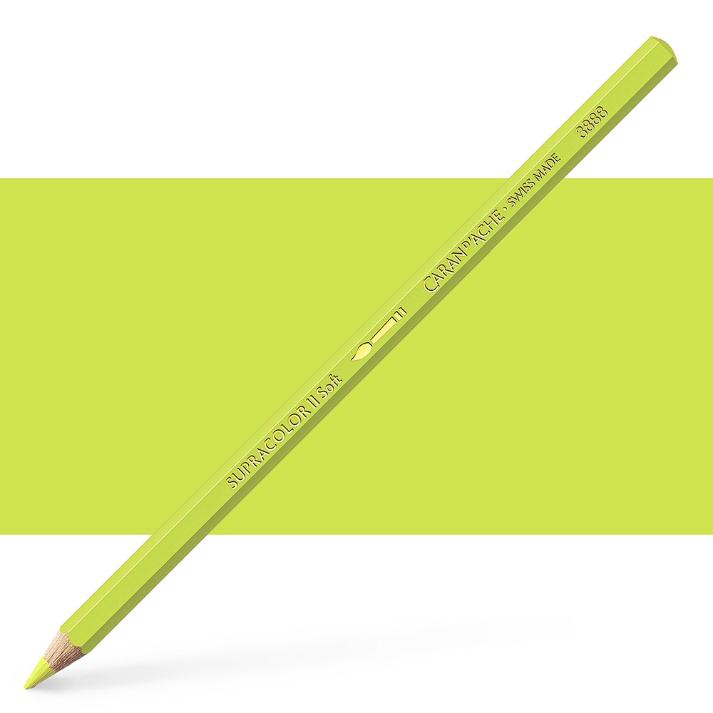 Caran d'Ache : Supracolor Soft : Watersoluble Pencil : Lime Green