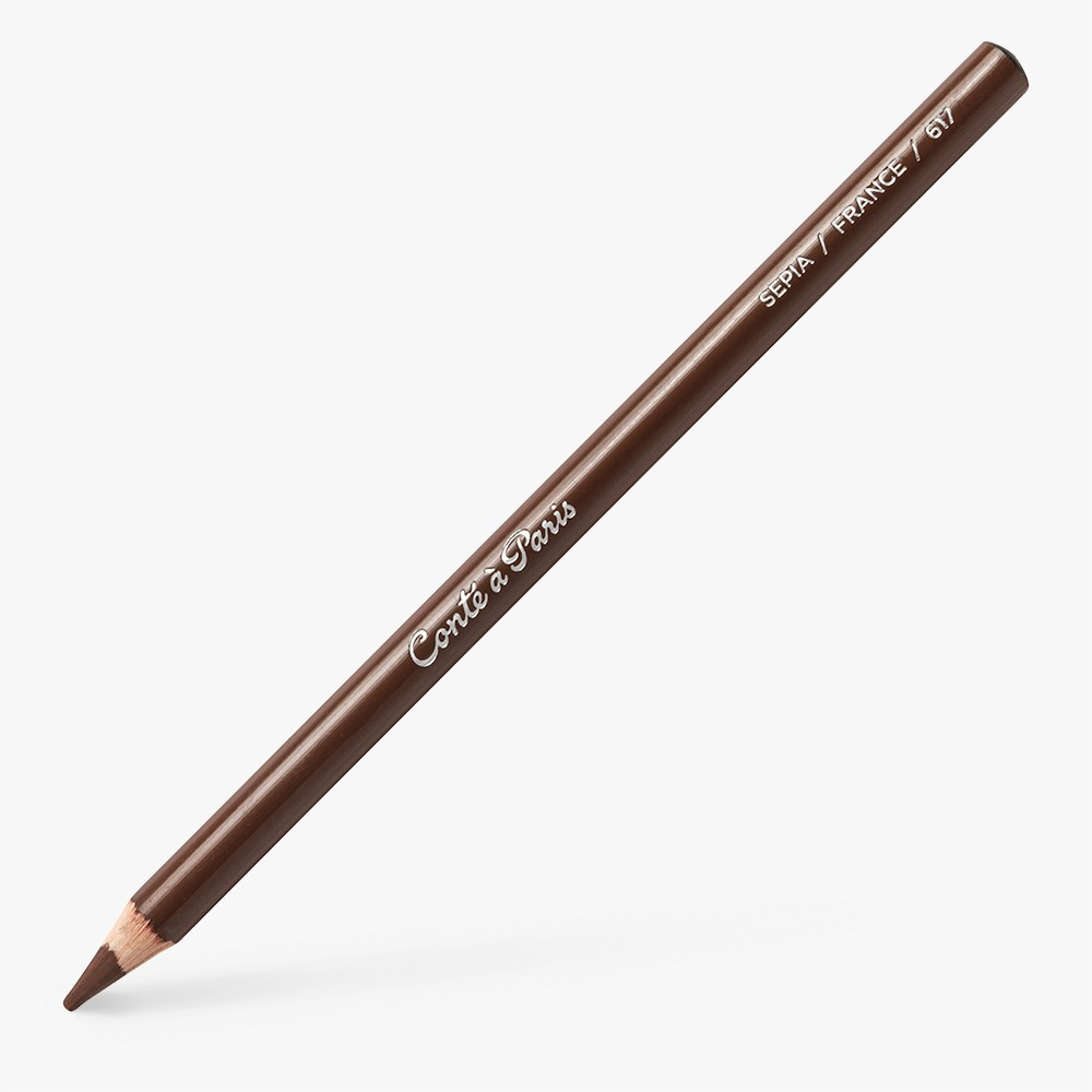 Conte : Drawing Pencil : Sepia
