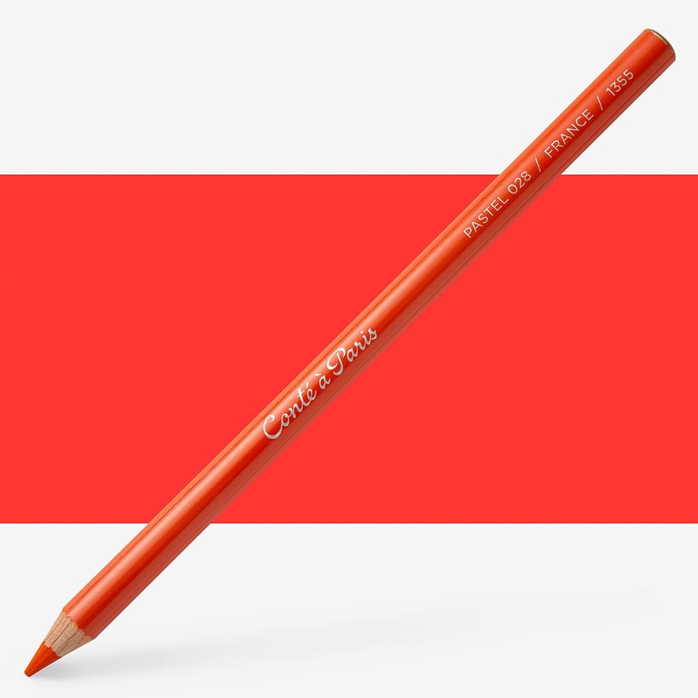 Conte : Pastel Pencil : Scarlet 28