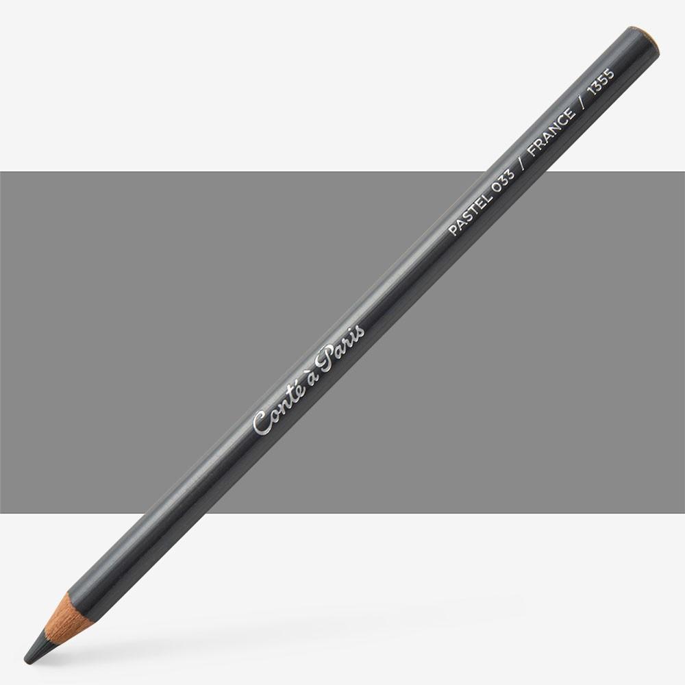 Conte : Pastel Pencil : Dark Grey 33