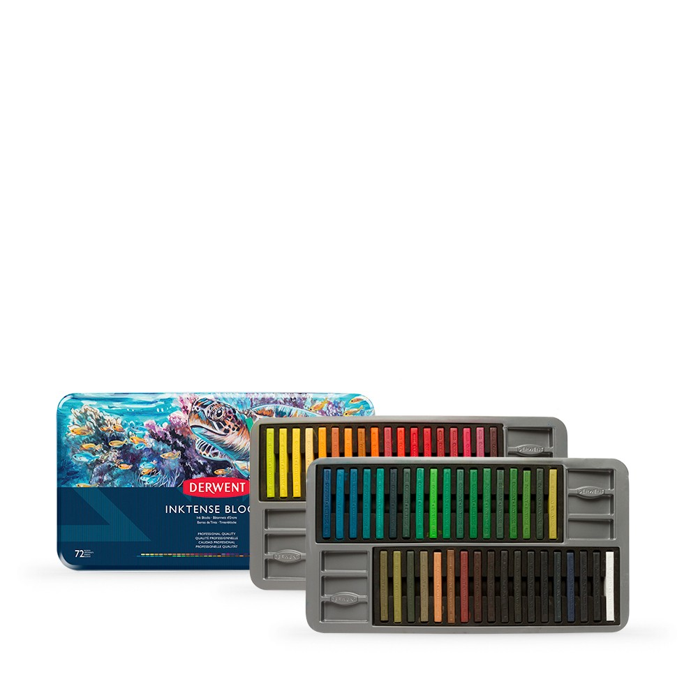 Derwent : Inktense Block : Tin Set of 72