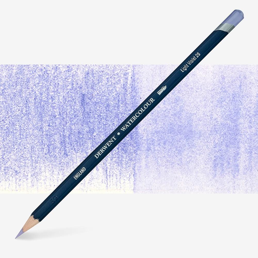 Derwent : Watercolour Pencil : Light Violet