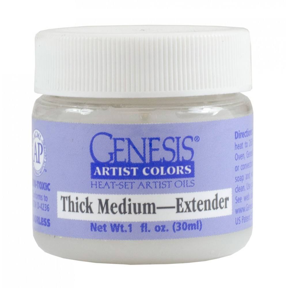 Genesis Heat Set Oil Paint : Medium THICK MEDIUM 30ml (1oz) jar