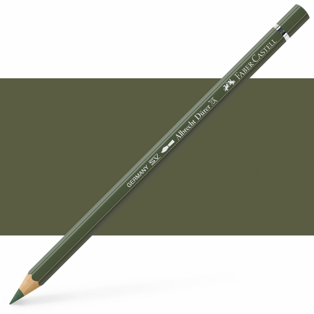 Faber Castell : Albrecht Durer Watercolour Pencil : Chrome Green Opaque