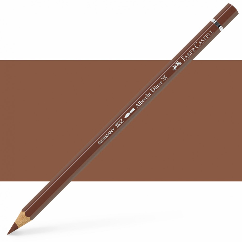 Faber Castell : Albrecht Durer Watercolour Pencil : Burnt Sienna