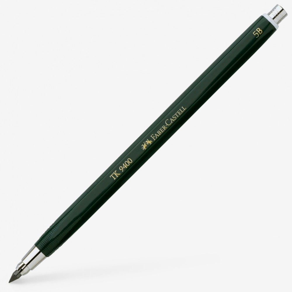 Faber Castell : TK9400 Clutch Pencil : With 3mm 5B Lead