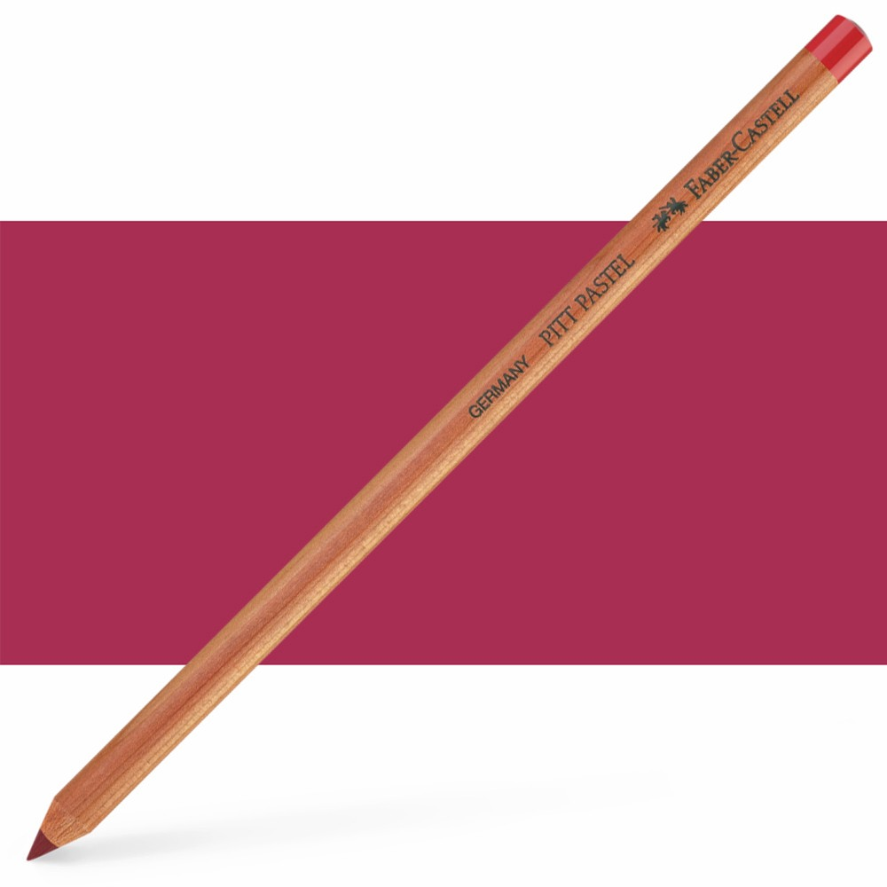 Faber Castell : Pitt Pastel Pencil : Dark Red