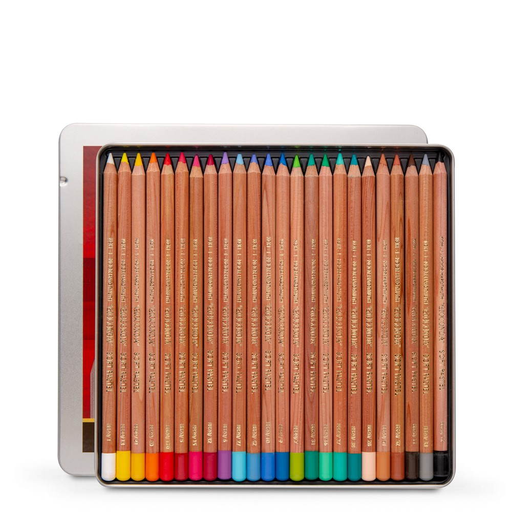 Koh-I-Noor : Gioconda 8828 : Soft Artist Pastel Pencils : Set of 24