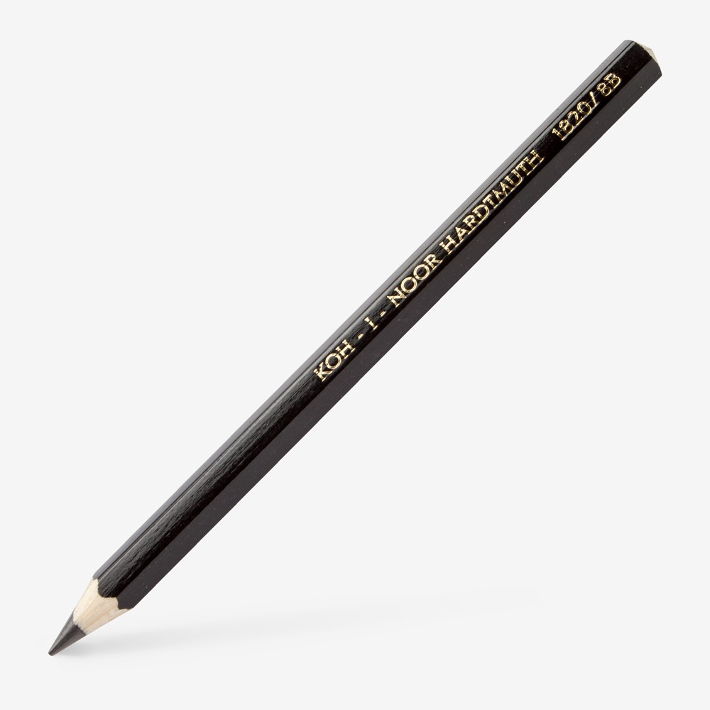 Koh-I-Noor : Jumbo Graphite Pencil 1820 : 10mm Diameter : 8B