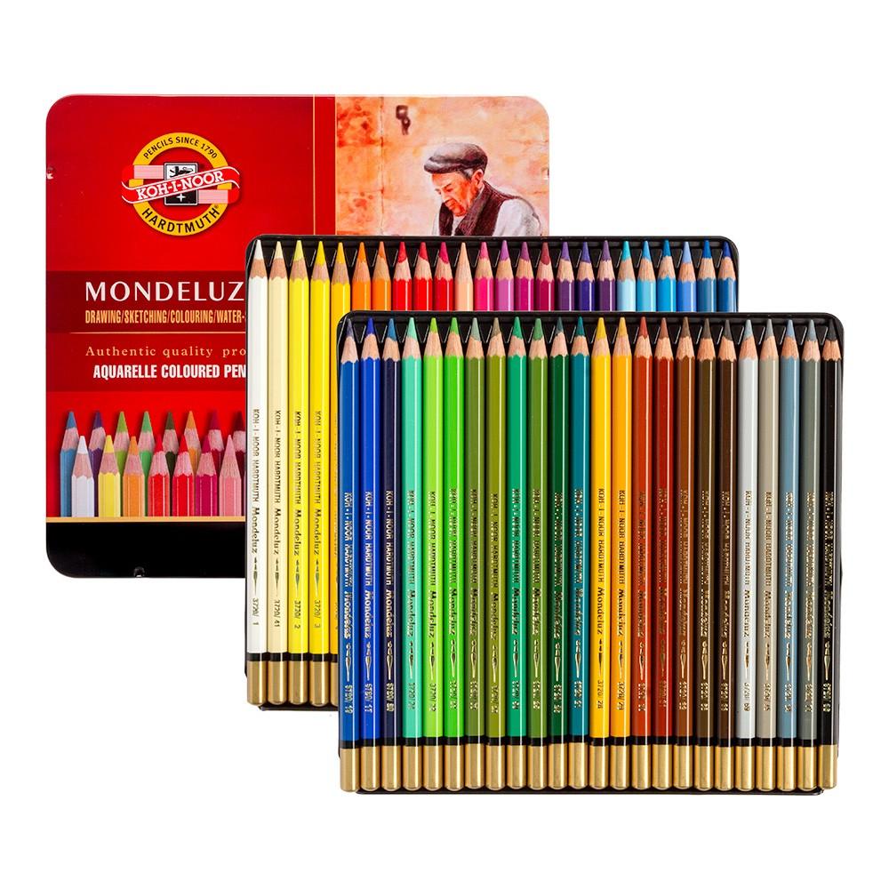 Koh-I-Noor : Mondeluz : Aquarell Coloured Pencils 3726 : Set of 48