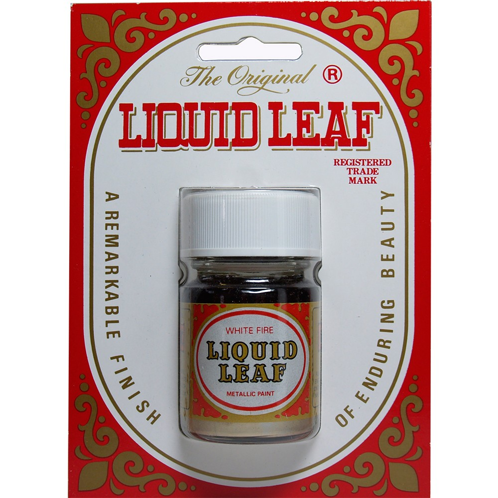 Liquid Leaf : White Fire : 30ml : Ship By Road Only
