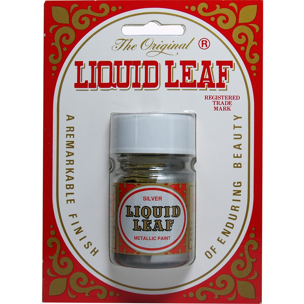 Liquid Leaf : Silver : 30ml : Ship By Road Only