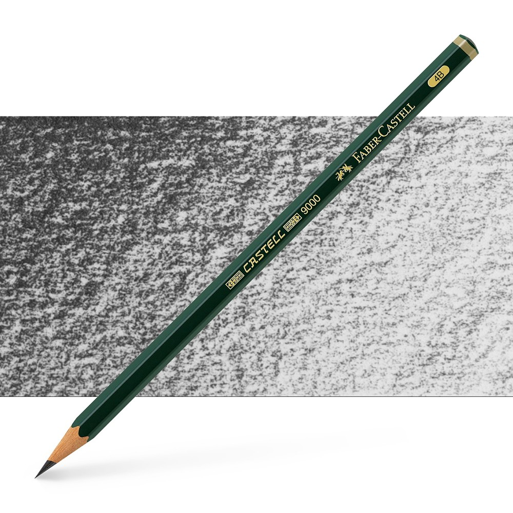Faber Castell : Series 9000 Pencil : 4B
