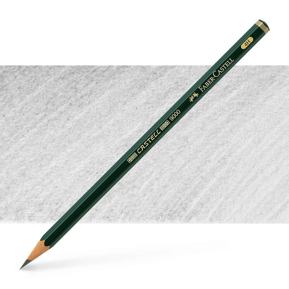 Faber Castell : Series 9000 Pencil : 4H
