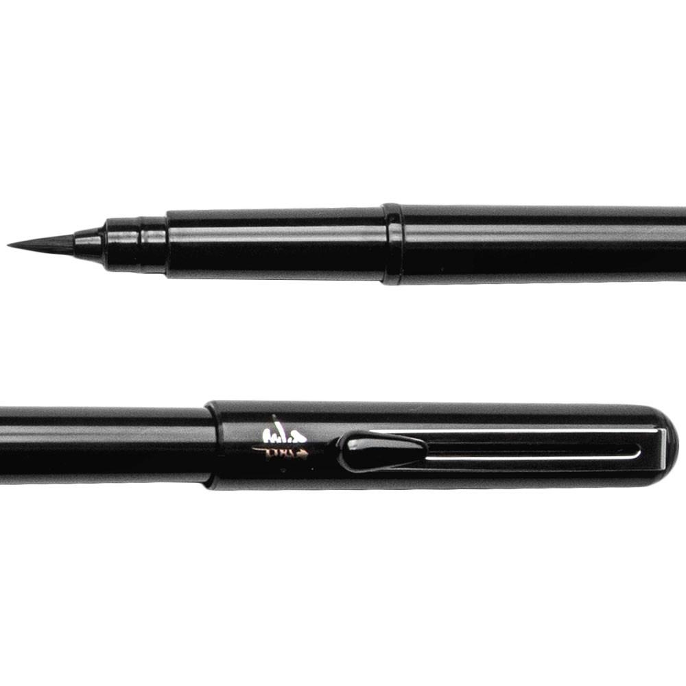 Pentel : Pigment Brush Pen : Plus 2 Black Ink Cartridge