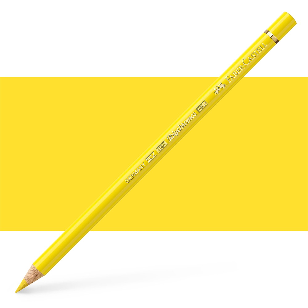 Faber Castell : Polychromos Pencil : Light Chrome Yellow
