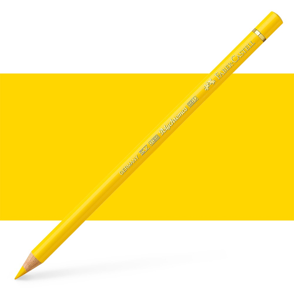 Faber Castell : Polychromos Pencil : Cadmium Yellow