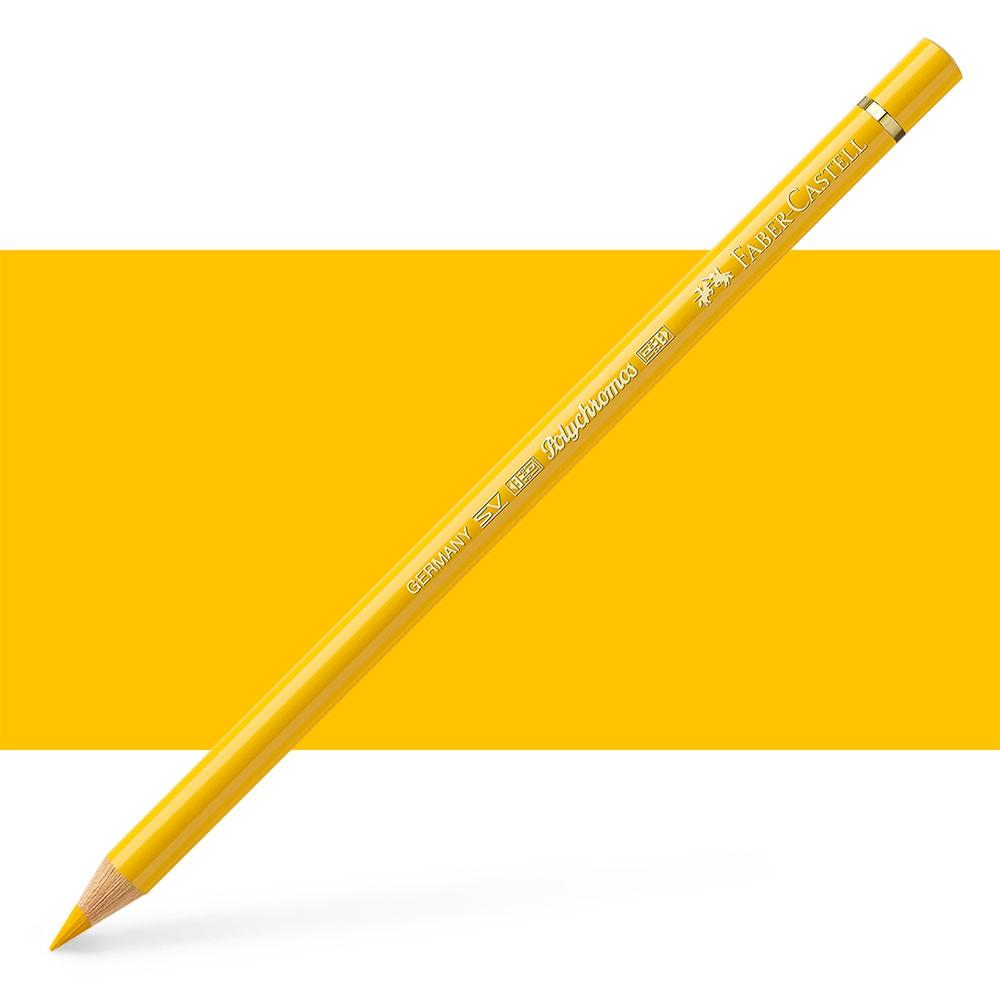Faber Castell : Polychromos Pencil : Dark Cadmium Yellow