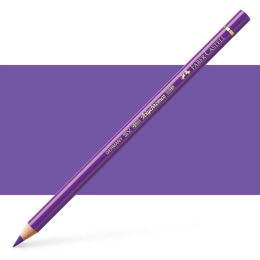 Faber Castell : Polychromos Pencil : Purple Violet