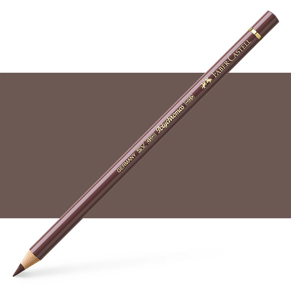 Faber Castell : Polychromos Pencil : Van Dyke Brown