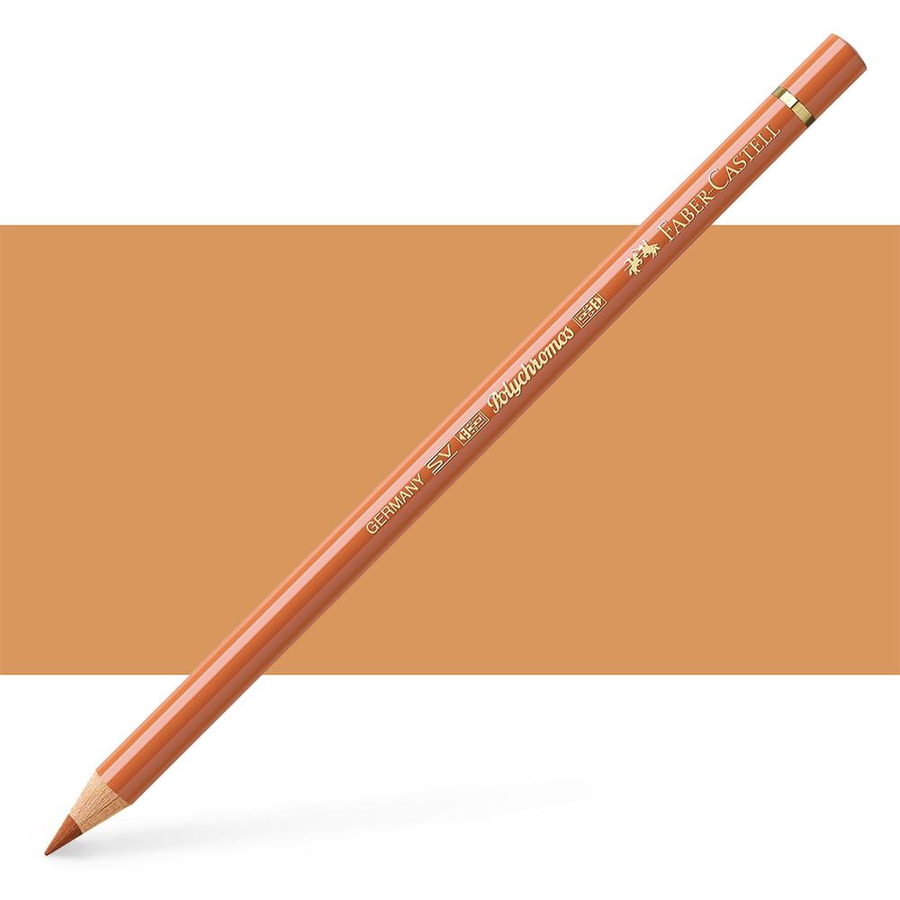Faber Castell : Polychromos Pencil : Burnt Ochre
