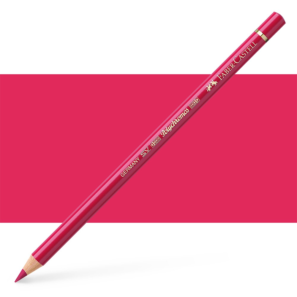 Faber Castell : Polychromos Pencil : Alizarin Crimson