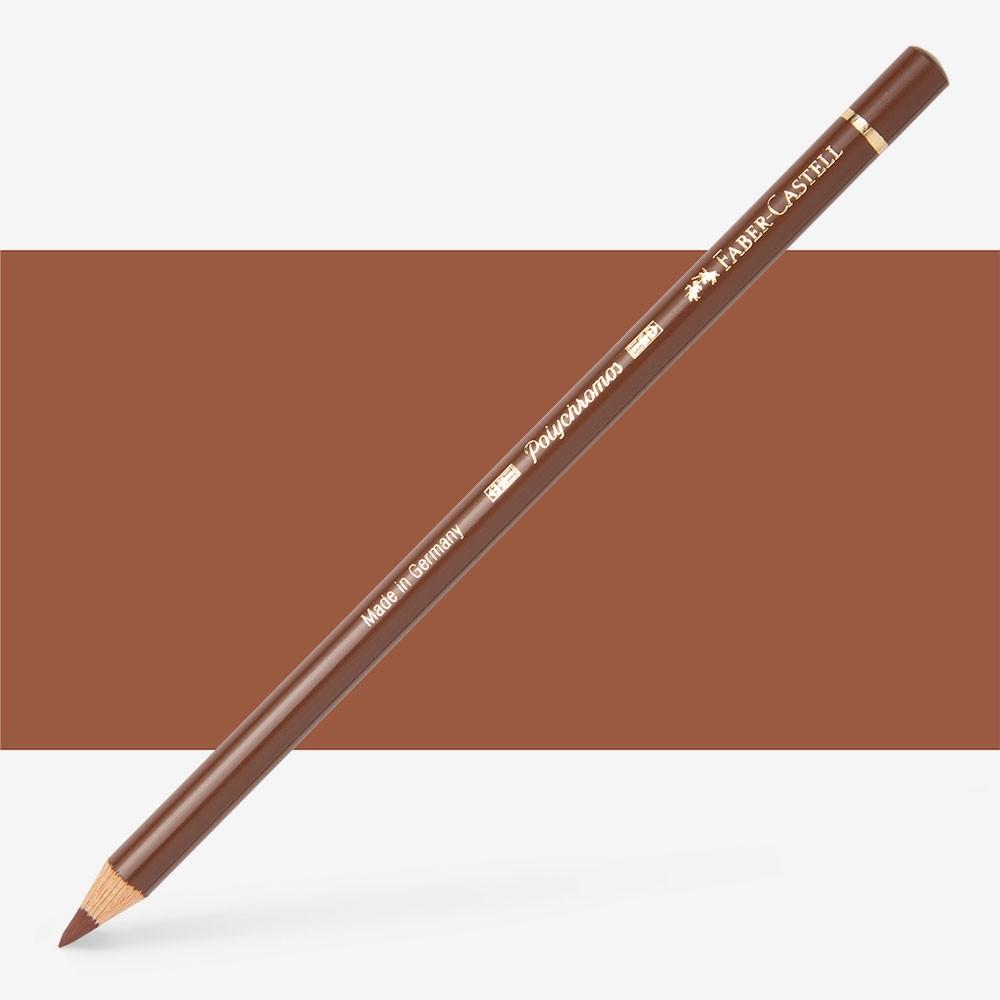 Faber Castell : Polychromos Pencil : Burnt Sienna