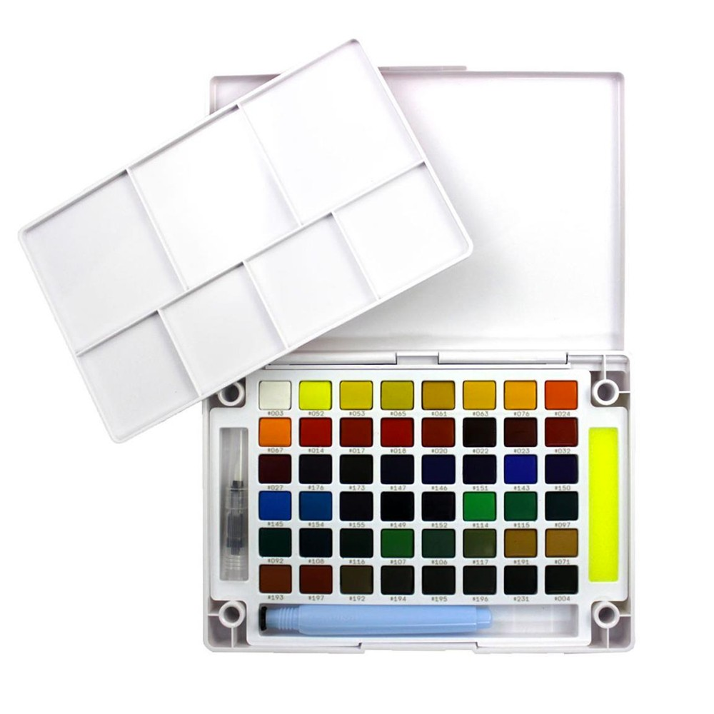 Sakura : Koi Watercolour : Pocket Field Sketchbox : Set of 48
