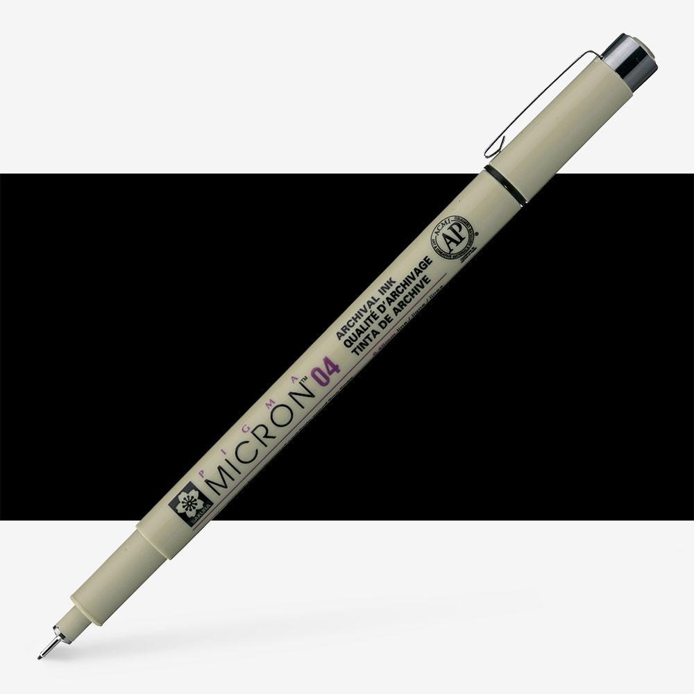 Sakura : Pigma : Micron Pen 04 : Black : 0.4 mm