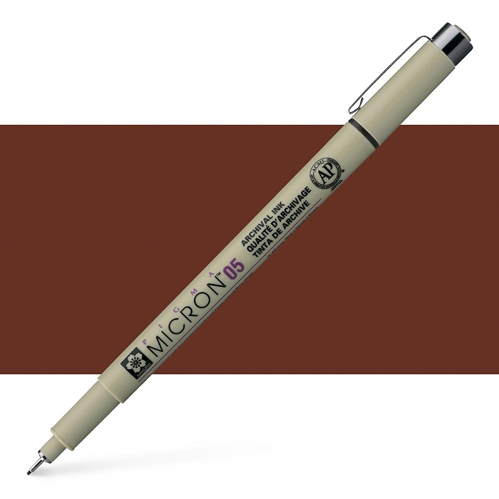 Sakura : Pigma : Micron Pen : Sepia : 0.45 mm