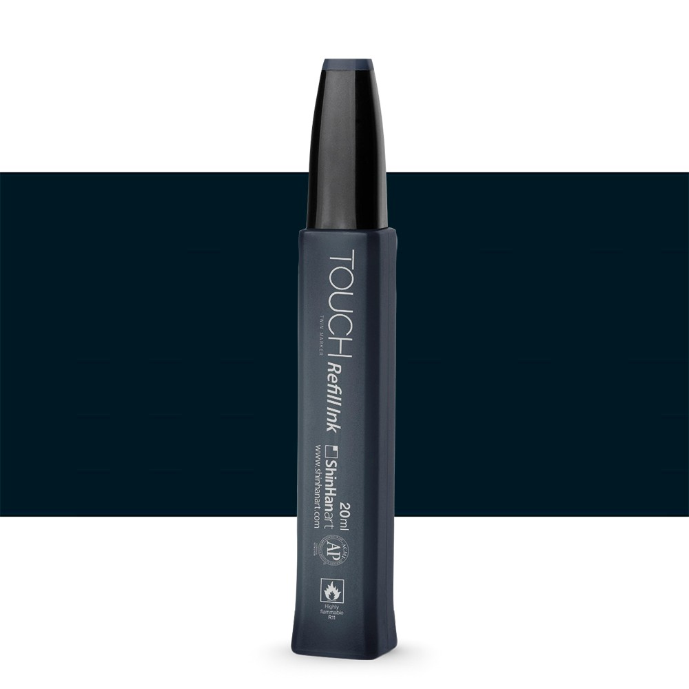 Shin Han : Touch Twin Marker Refill : 20ml : Black 120