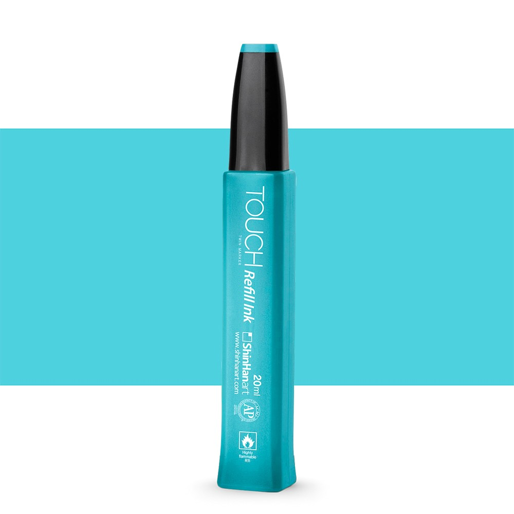 ShinHan : Twin Touch Marker Refill : 20ml : Pastel Blue B67