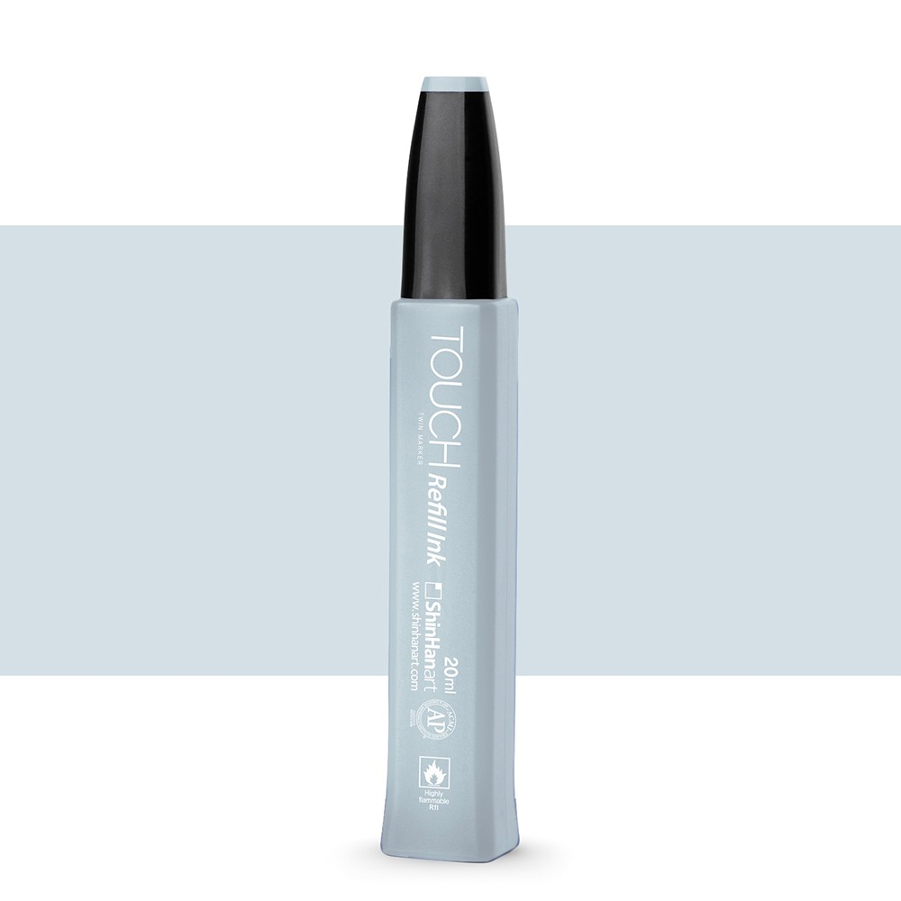 ShinHan : Twin Touch Marker Refill : 20ml : Blue Grey BG1
