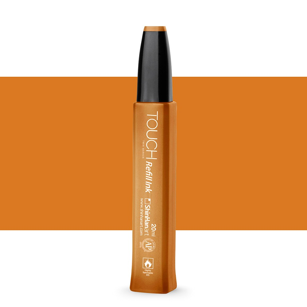 ShinHan : Touch Twin Marker Refill : 20ml : Potato Brown BR103