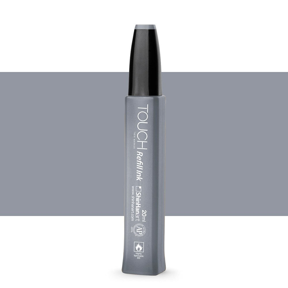 ShinHan : Twin Touch Marker Refill : 20ml : Cool Grey CG5
