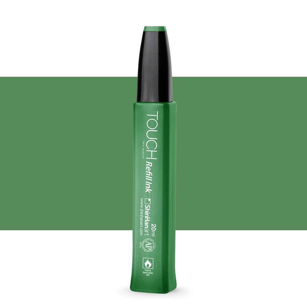 Shin Han : Touch Twin Marker Refill : 20ml : Deep Olive Green G43
