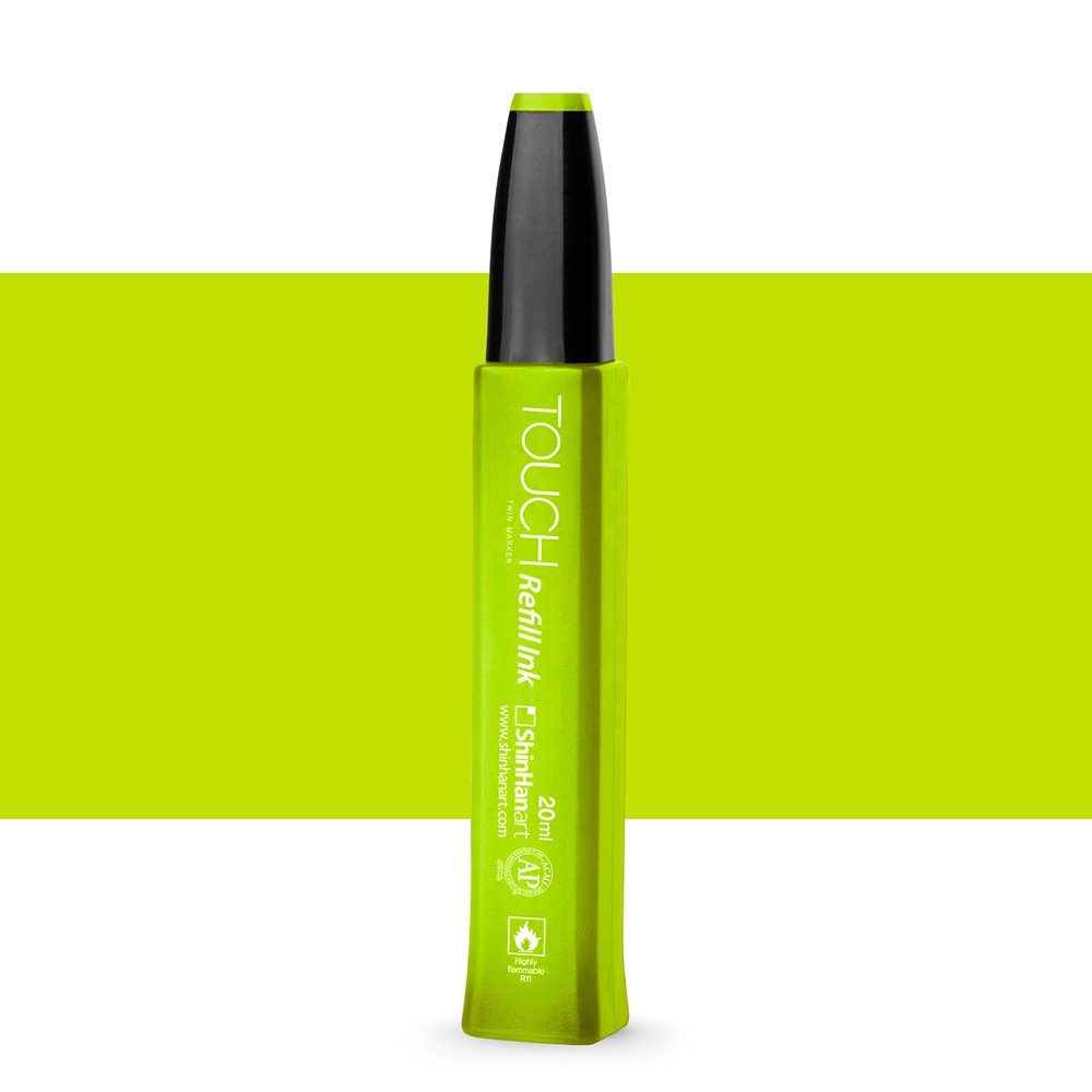 ShinHan : Touch Twin Marker Refill : 20ml : Yellow Green GY48