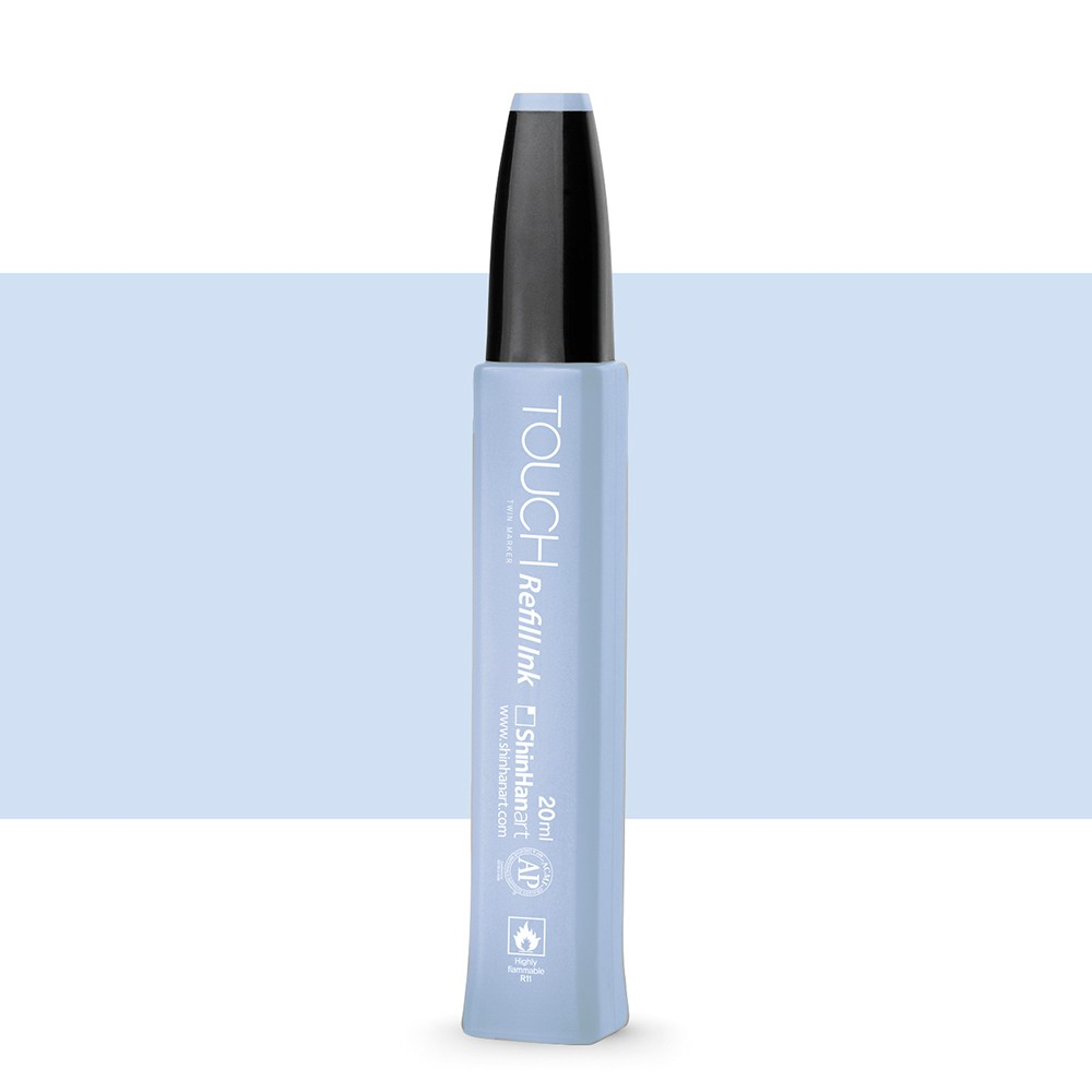 ShinHan : Twin Touch Marker Refill : 20ml : Pale Baby Blue PB144