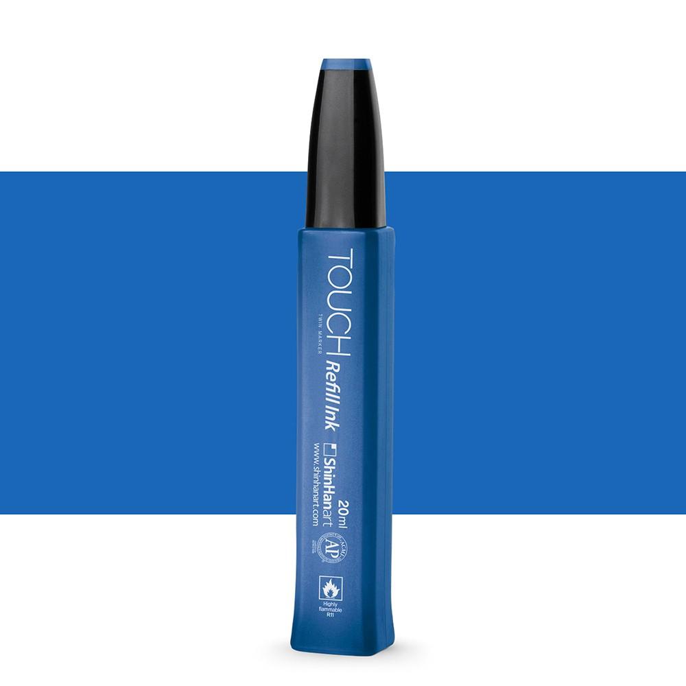 ShinHan : Touch Twin Marker Refill : 20ml : Brilliant Blue PB74
