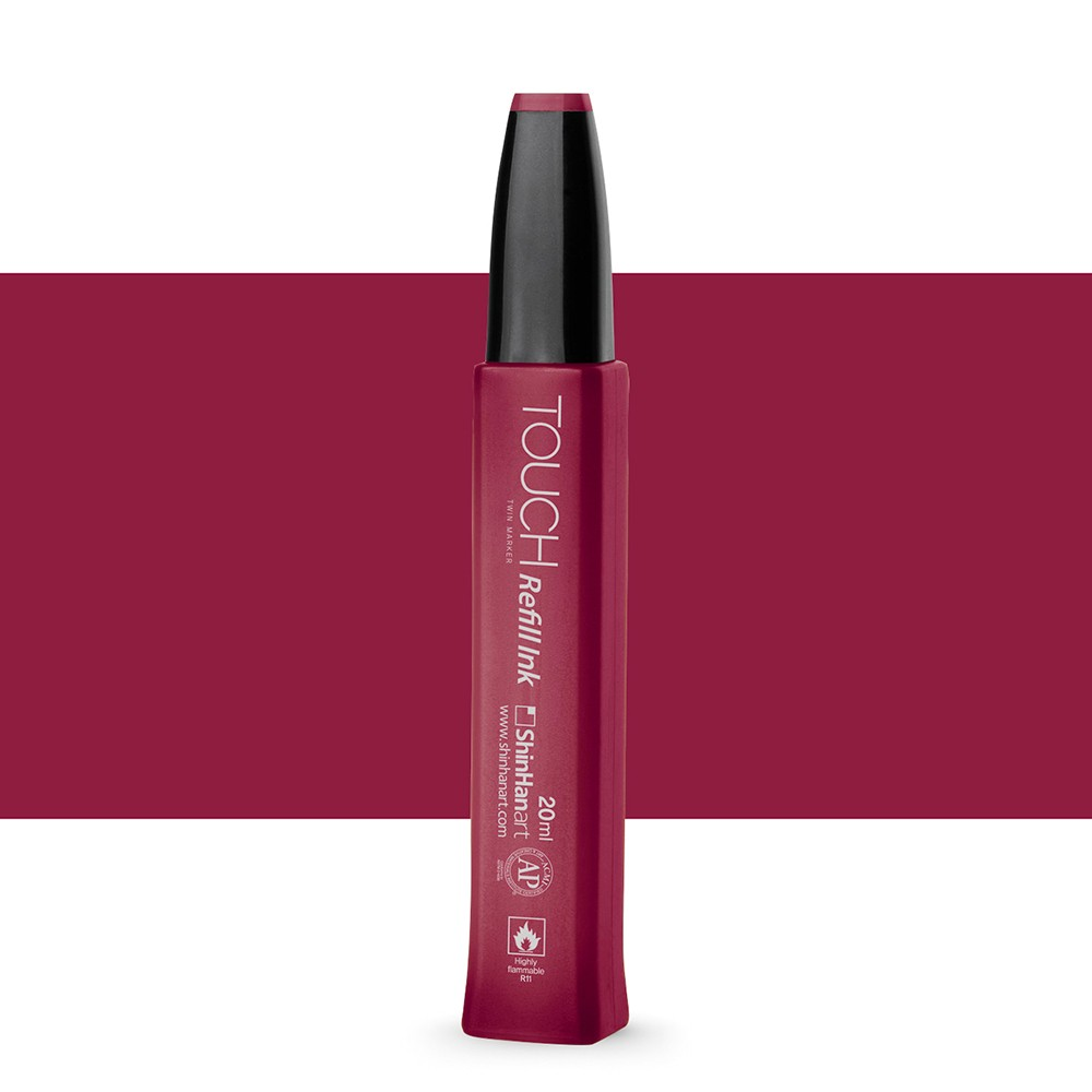ShinHan : Touch Twin Marker Refill : 20ml : Wine Red R1
