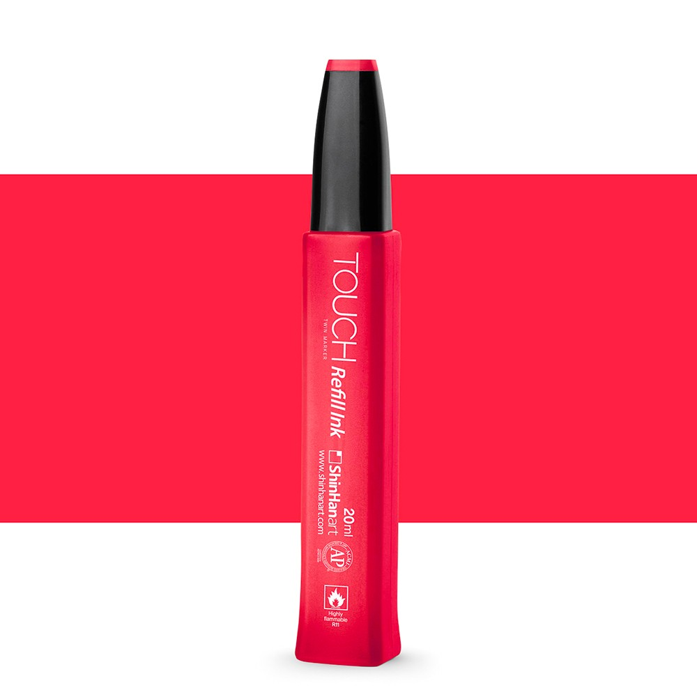 ShinHan : Touch Twin Marker Refill : 20ml : Coral Red R12
