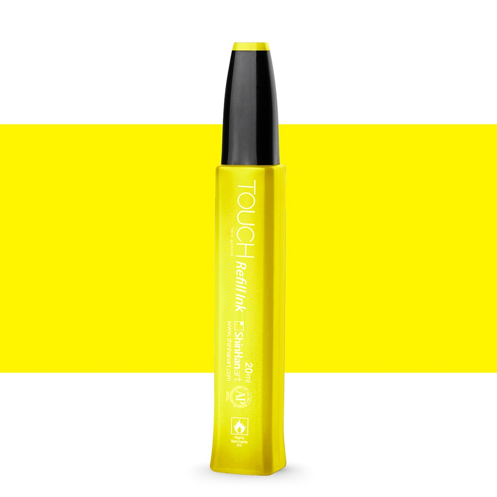 ShinHan : Twin Touch Marker Refill : 20ml : Lemon Yellow Y35