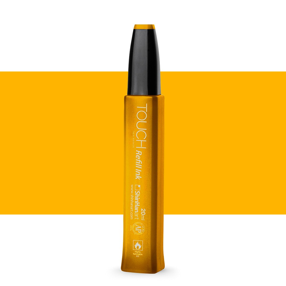ShinHan : Touch Twin Marker Refill : 20ml : Melon Yellow YR33