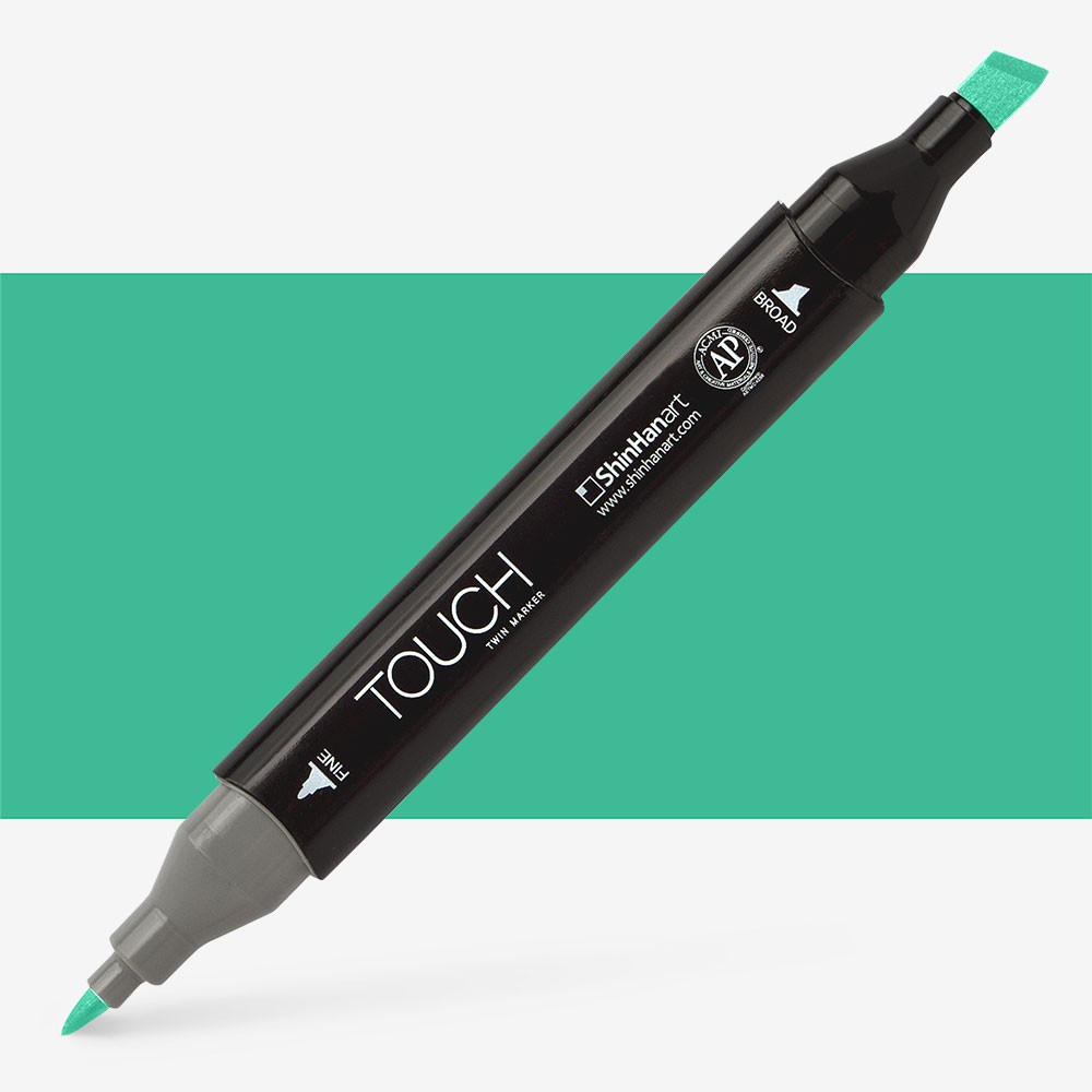 Shin Han : Touch Twin Marker Pen : Mint Green Light : G58