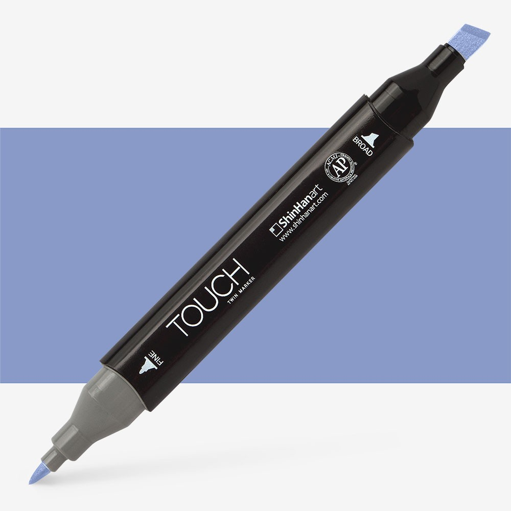 Shin Han : Touch Twin Marker Pen : Blue Berry : PB273