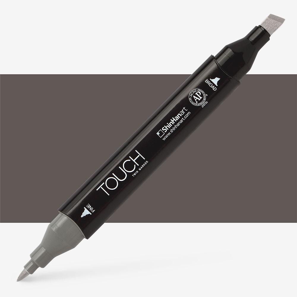 Shin Han : Touch Twin Marker Pen : Warm Grey : WG8